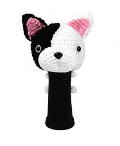 french bulldog driver golf headcover
