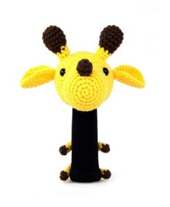 giraffe yellow driver golf headcover