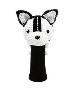 husky black driver golf headcover