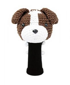 jack russell terrier d.brown driver golf headcover