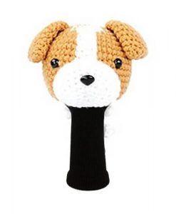 jack russell terrier l.brown driver golf headcover
