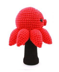 octopus driver golf headcover side