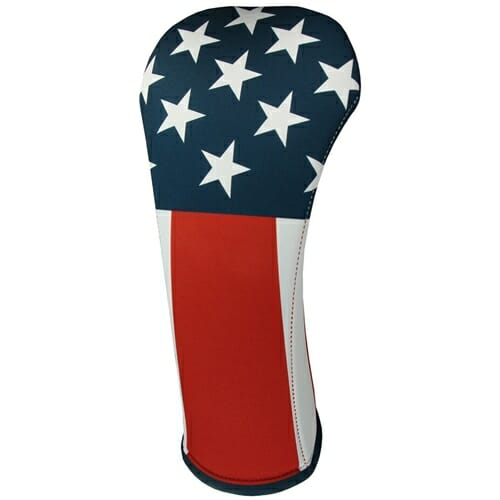 beejo's usa flag fairway golf headcover