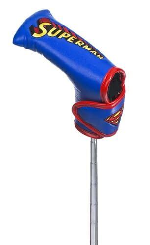 creative covers superman blade putter golf headcover