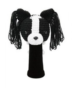 papillon black driver golf headcover