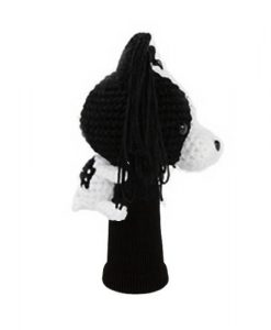 papillon black driver golf headcover side