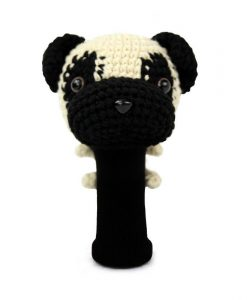 pug driver golf headcover