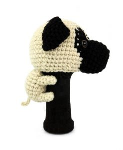 pug driver golf headcover side