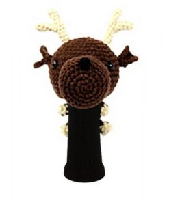 reindeer driver golf headcover