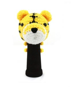 tiger driver golf headcover