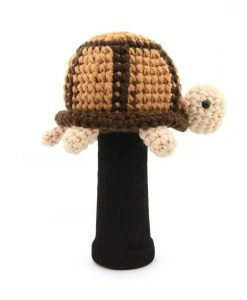 turtle brown driver golf headcover