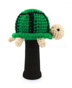 turtle green driver golf headcover