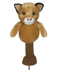 Chip the Cougar Golf Headcover