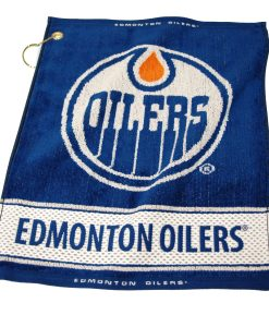 Oilers Woven Golf Towel