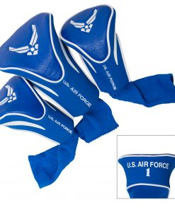 team golf u.s. air force 3 pack contour golf headcovers