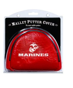 us marines mallet putter golf headcover