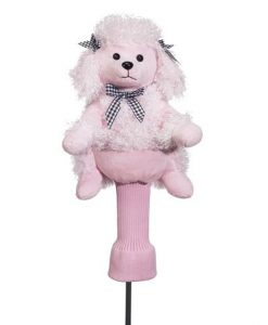 Paula the Pink Poodle Golf Headcover