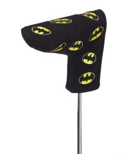 Batman multi emblem putter cover