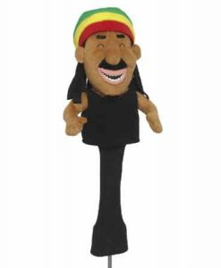 Rasta Man Golf Headcover