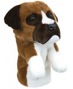 Boxer Golf Headcover
