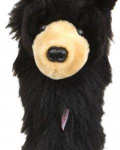 daphne's black bear golf headcover