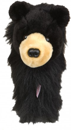 daphne's black bear golf headcover