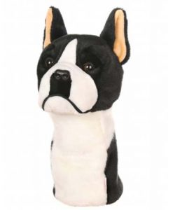 Boston Terrier Golf Headcover