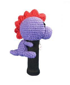 dinosaur purple fairway side