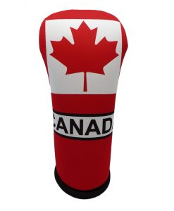 beejo's canadian flag driver golf headcover
