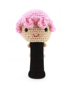 amimono girl pink driver golf headcover