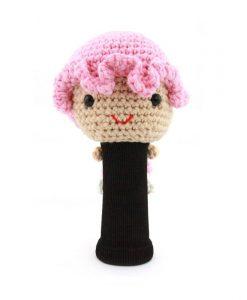 amimono girl pink driver golf headcover