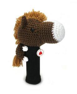 horse d.brown driver golf headcover