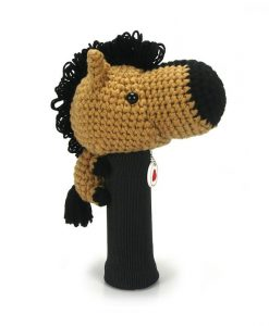 horse l.brown driver golf headcover