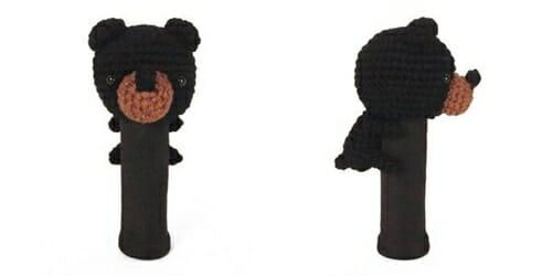 AmiFairway - Bear Headcover - Brown