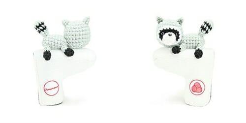 AmiPutter - Raccoon - White / Gray