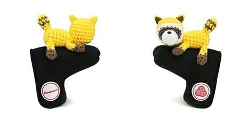 AmiPutter - Raccoon - Black / Yellow