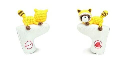 AmiPutter - Raccoon - White / Yellow