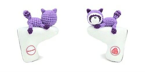 AmiPutter - Raccoon - White / Purple