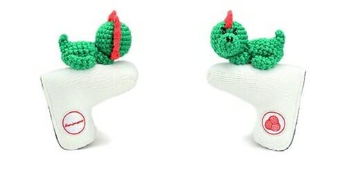 AmiPutter - Dinosaur - White / Green