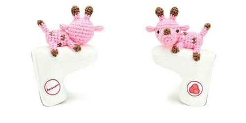 AmiPutter - Giraffe - White / Pink
