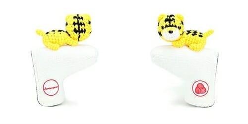 AmiPutter - Cat - White / Yellow