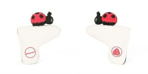 AmiPutter - Ladybug - White / Red