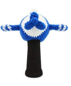 amimono airplane blue driver golf headcover
