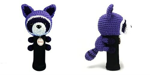 AmiFairway - Raccoon Headcover - Purple