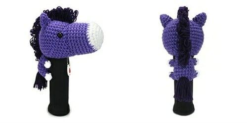 AmiFairway - Horse Headcover - Purple