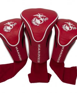 US Marines 3 Pack Contour Golf Headcovers set of 3