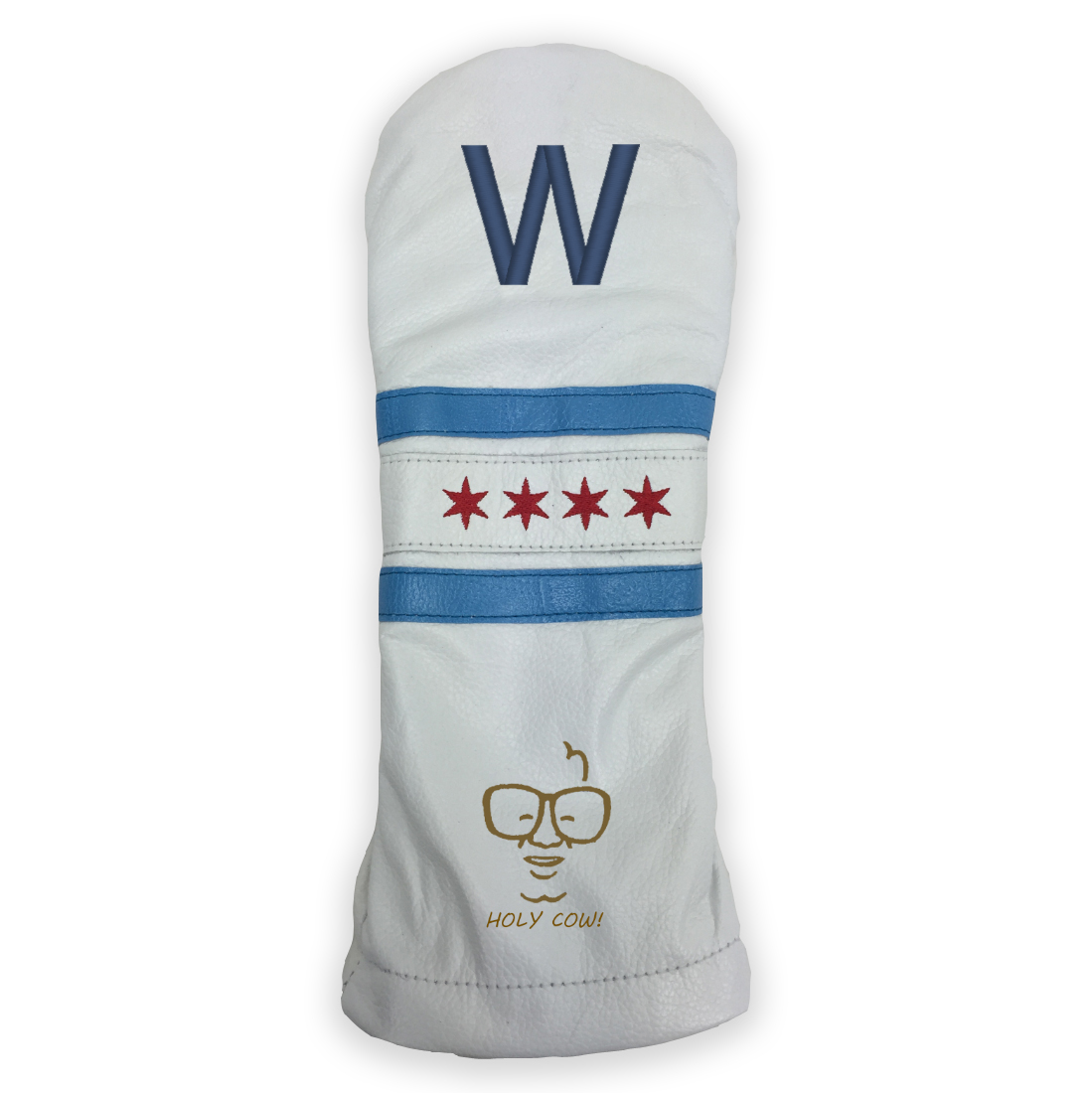 Cubs Fly the W Golf Headcover | Sunfish Golf Headcovers