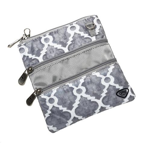 Wrought Iron 3 Zip Bag