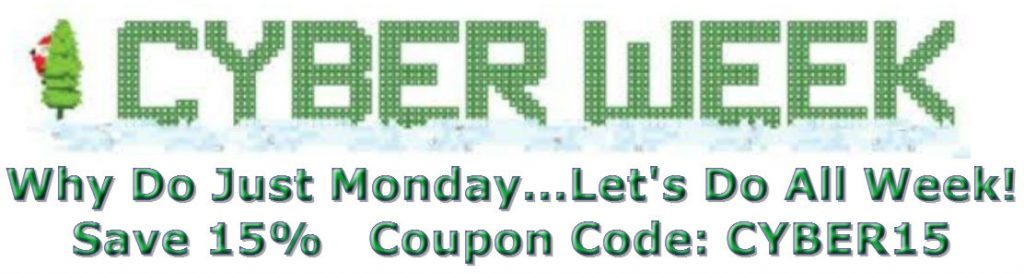 Cyber Week 2015 Coupon 2