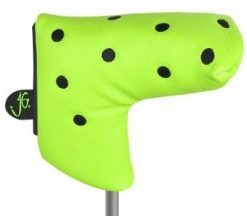 just4golf green black dot blade putter headcover